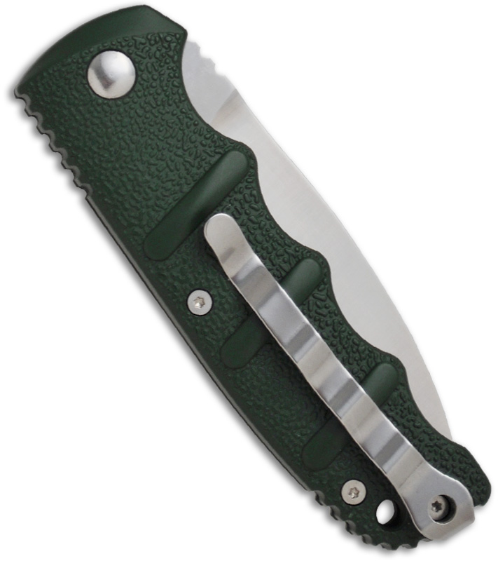 Boker Kalashnikov Satin Green Automatic Knife at BladeHQ.com