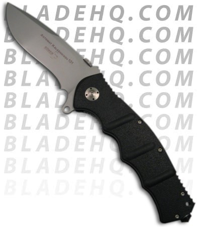 Boker Kalashnikov 101 Folding Knife 01KA101 (Black Silver) at BladeHQ.com
